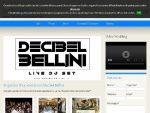 Daniele Decibel Bellini official web site