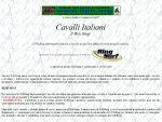 Cavalli Italiani Web Ring